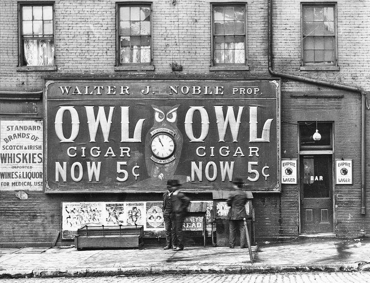 five-cent-owl-cigars-howard-clock-and-watch-co-electric-clock