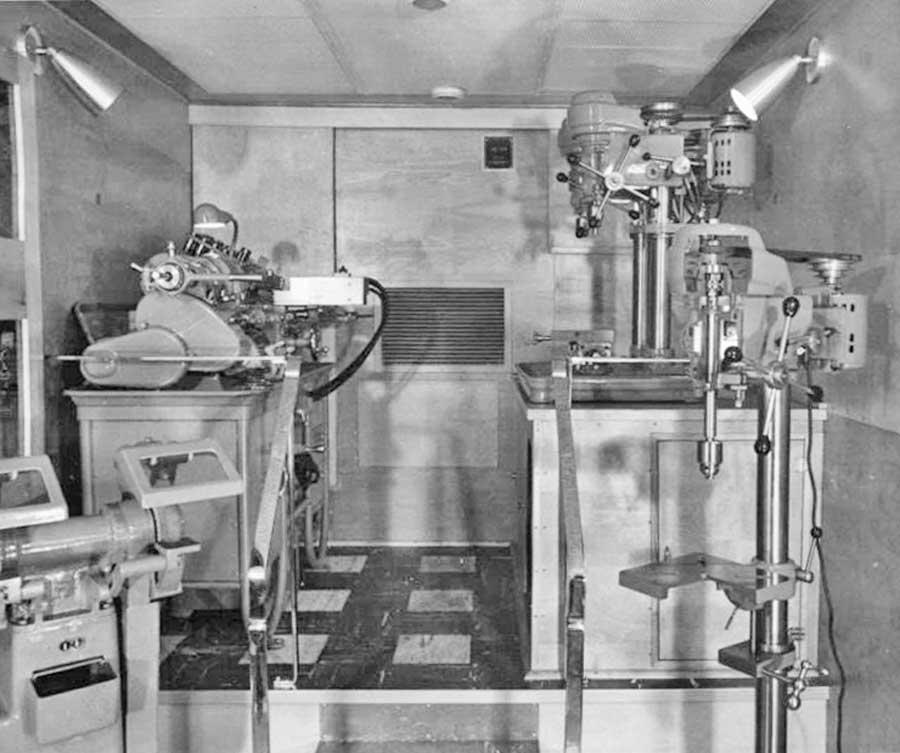 An Amazing South Bend Lathe Company Traveling Machine Shop