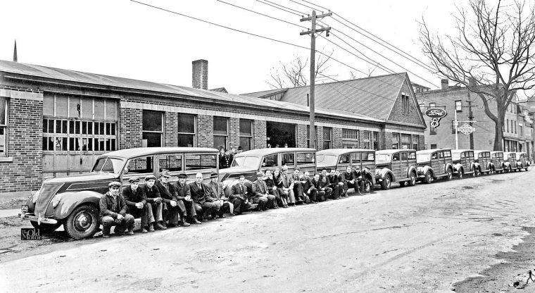 10-new-1937-ford-woodies-delivered-in-fredricton-new-brunswick