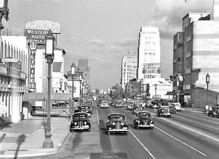 wilshire-boulevard-1939-1930s-cars-street-scene