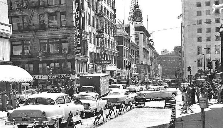 stockton-st-post-st-san-francisco-1950s-cars