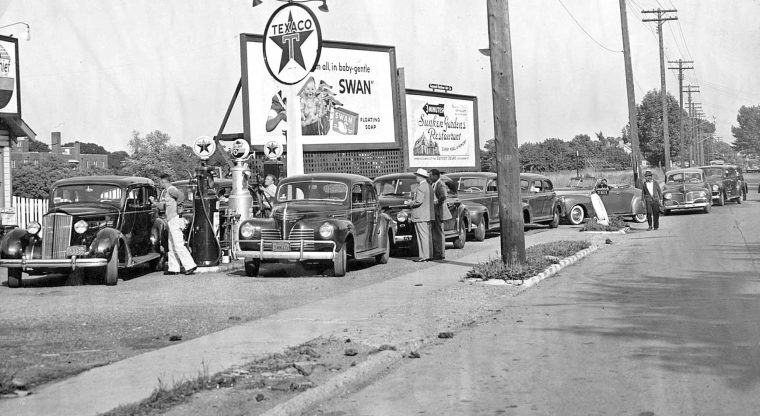 world-war-ii-gasoline-lines-rationing-texaco