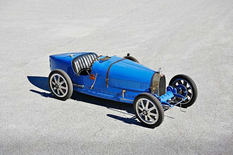 1925 Bugatti Type 35 bird racing car 8