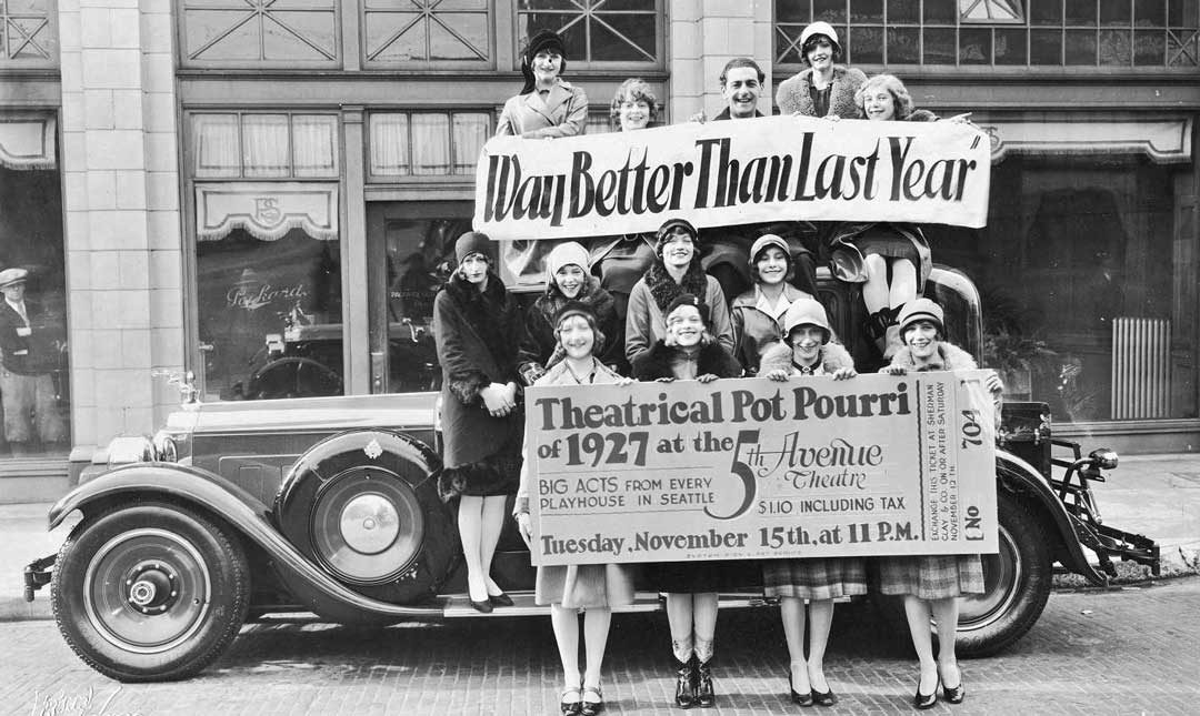 Packard Club Sedan Serves as a Prop for a Theatrical Promotion | The ...
