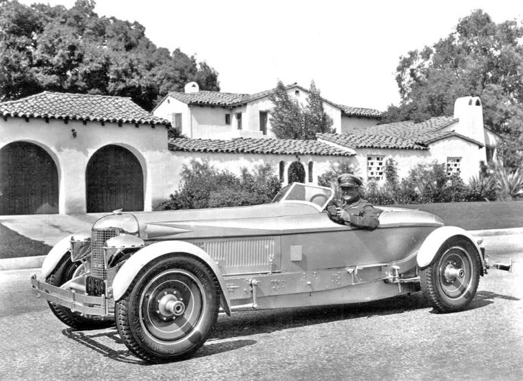 1929 custom bodied packard speedster