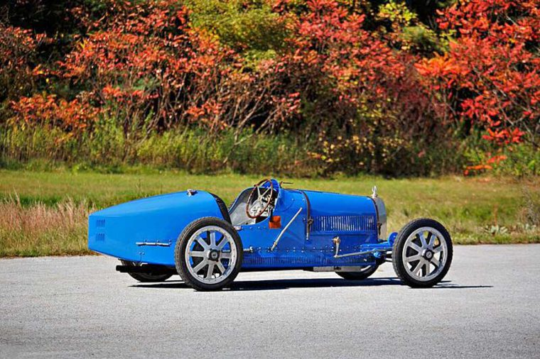 Bugatti Type 35 bird racing car 1