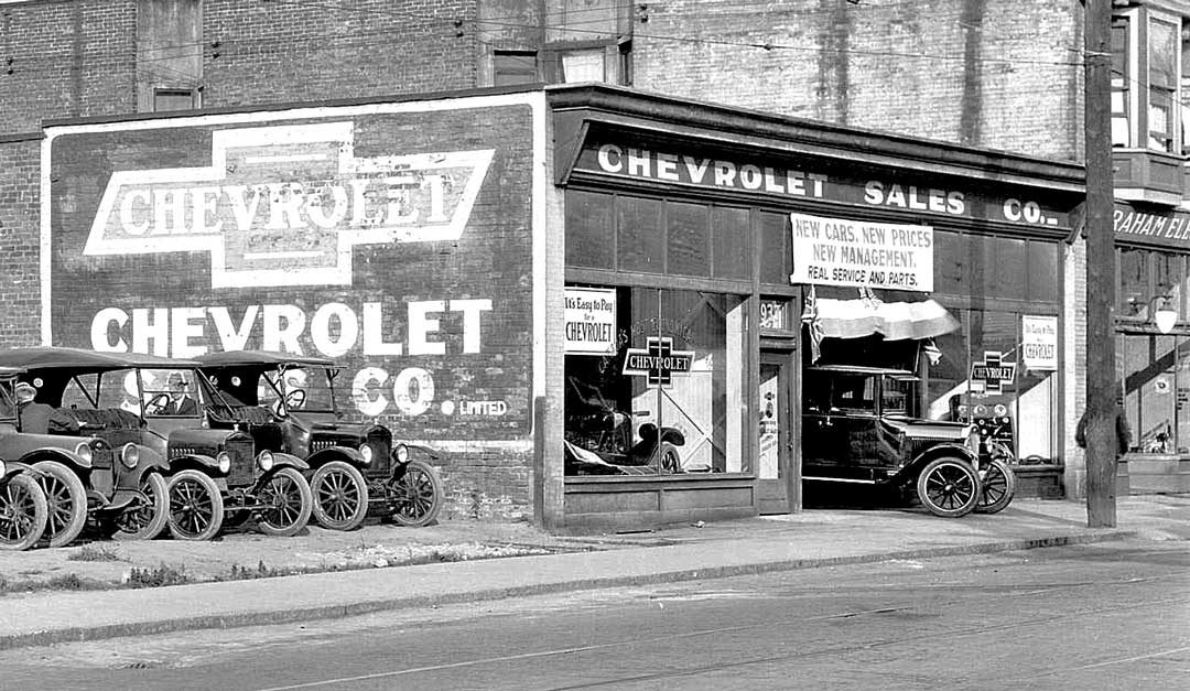 New Chevrolets, New Prices, New Management | The Old Motor