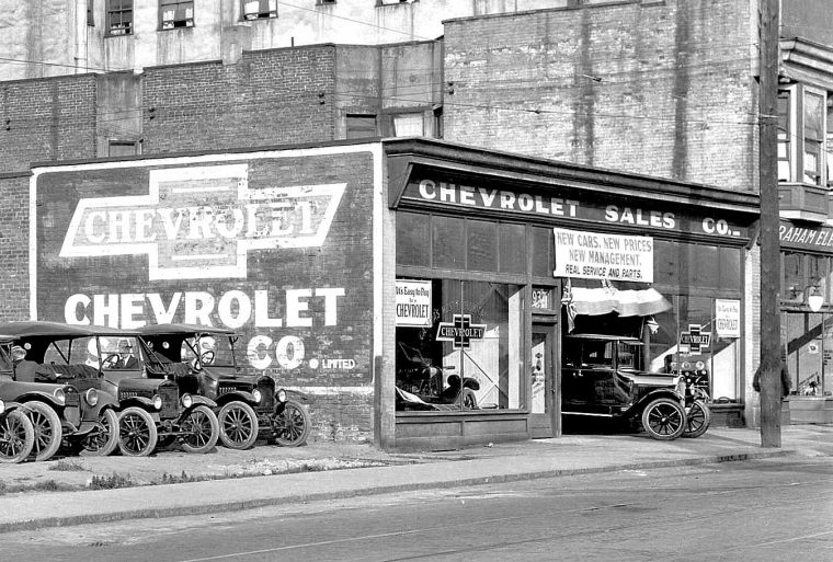 New Chevrolets New Prices New Management The Old Motor