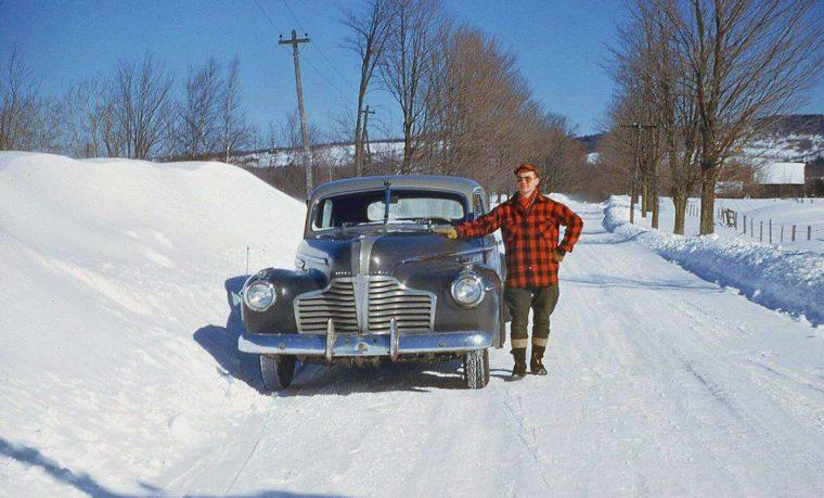 fun friday forties  fifties kodachrome car images   motor