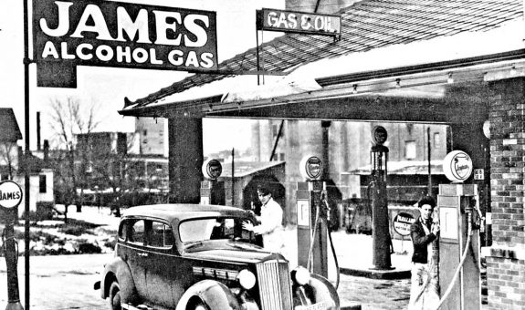 Jame Alcohol Gas 1930s 115 or 120 packard 1