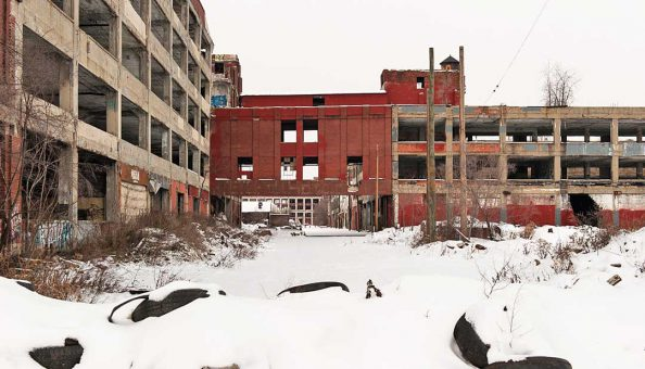 The Detroit Packard Plant project moves forward 1