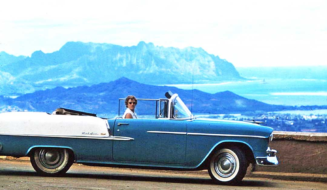 Four Fun Friday Forties and Fifties Kodachrome Car Images | The Old ...