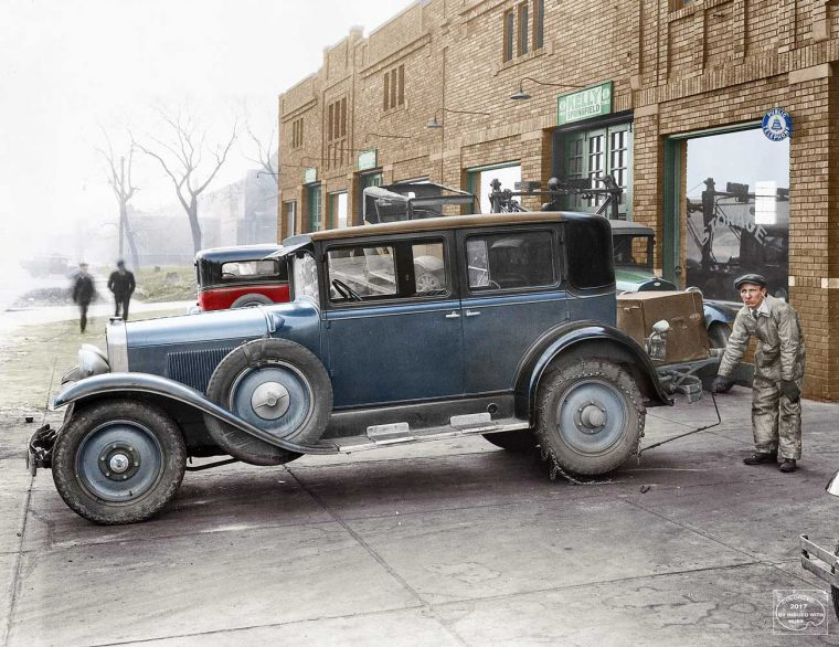 1927 LaSalle Club Sedan styled by Harley Earl
