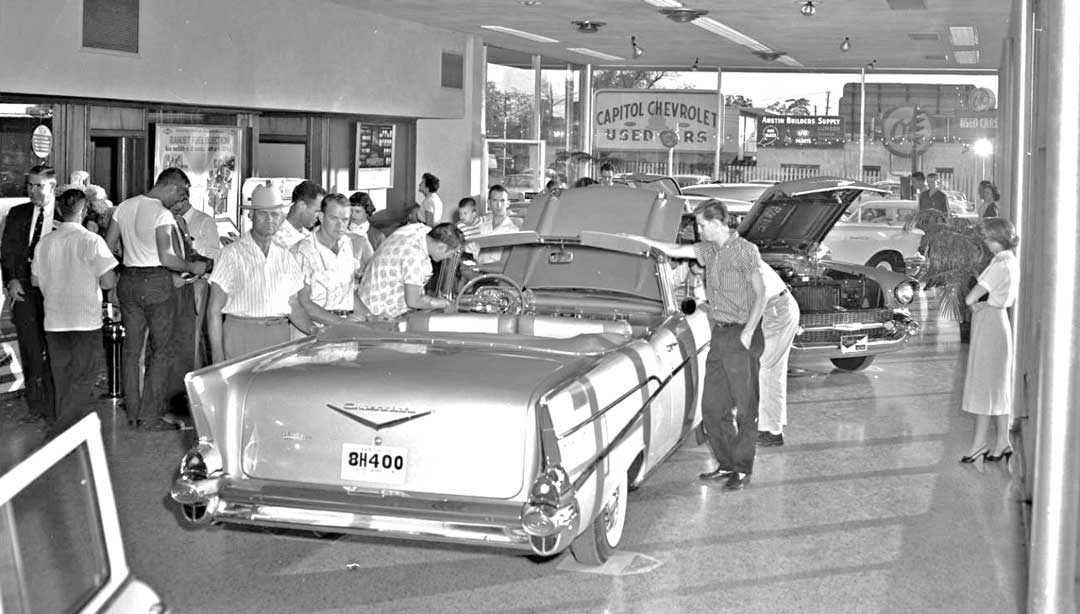 Capitol Chevrolet Austin >> 1957 Chevrolet Introduction Day at Capitol Chevrolet | The Old Motor