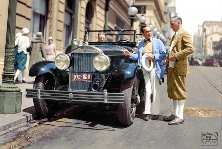 Al-Jolson-1926-Cadillac-San-Francisco 1