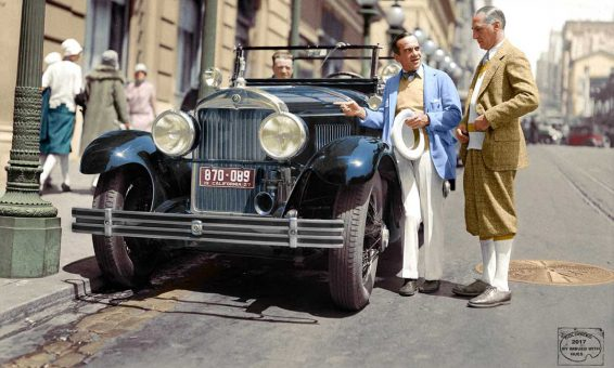 Al Jolson 1926 Cadillac San Francisco
