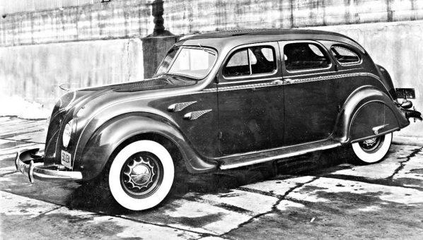 Circa 1936 Chrysler or Desoto Airflow