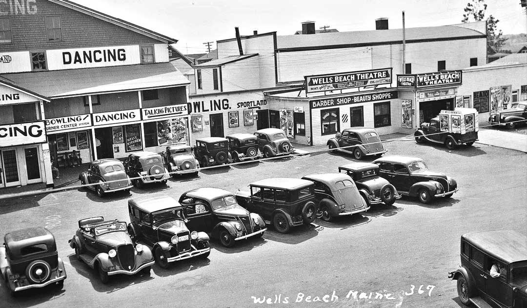 Sign Painters Paradise – Wells Beach, Maine | The Old Motor