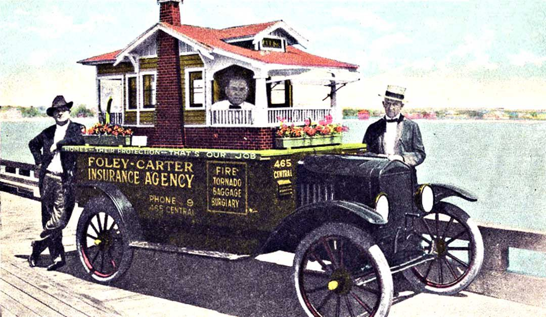 "Foley-Carter Insurance Agency Model ""T"" Ford ""House Car"" 
