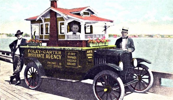 Foley Carter Insurance Model T Ford St. Pete FL 1