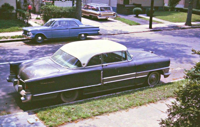 Mid-1950s Packard Mid-1960s Fords