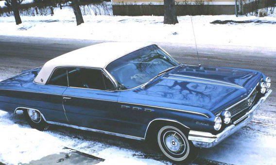 early-1960s buick wildcat hardtop
