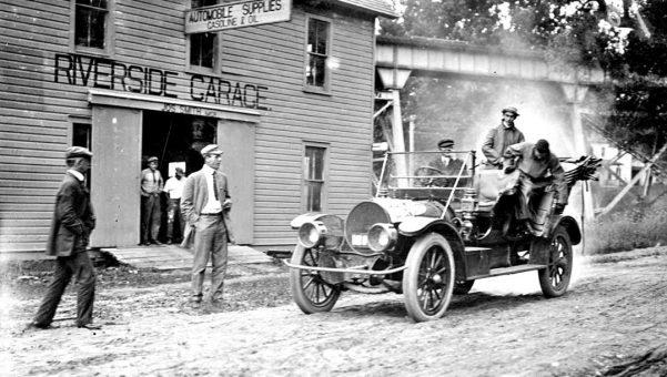 Franklin laminated wooden frame | The Old Motor
