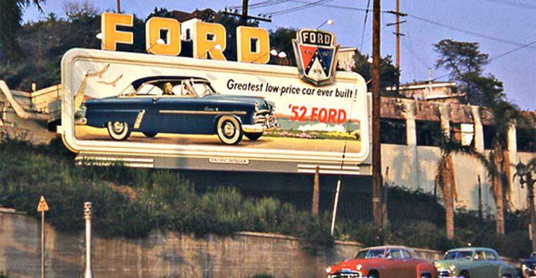 1952 Ford Hardtop Bill Board
