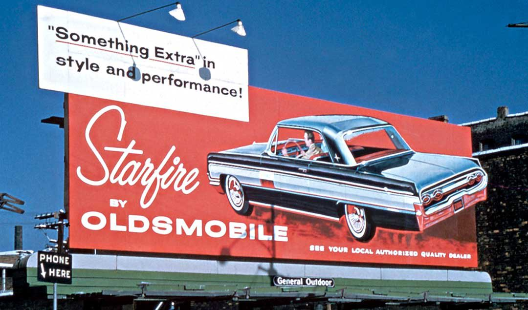 Automobile Billboards – Selling Motorists the Vision of a New Car ...