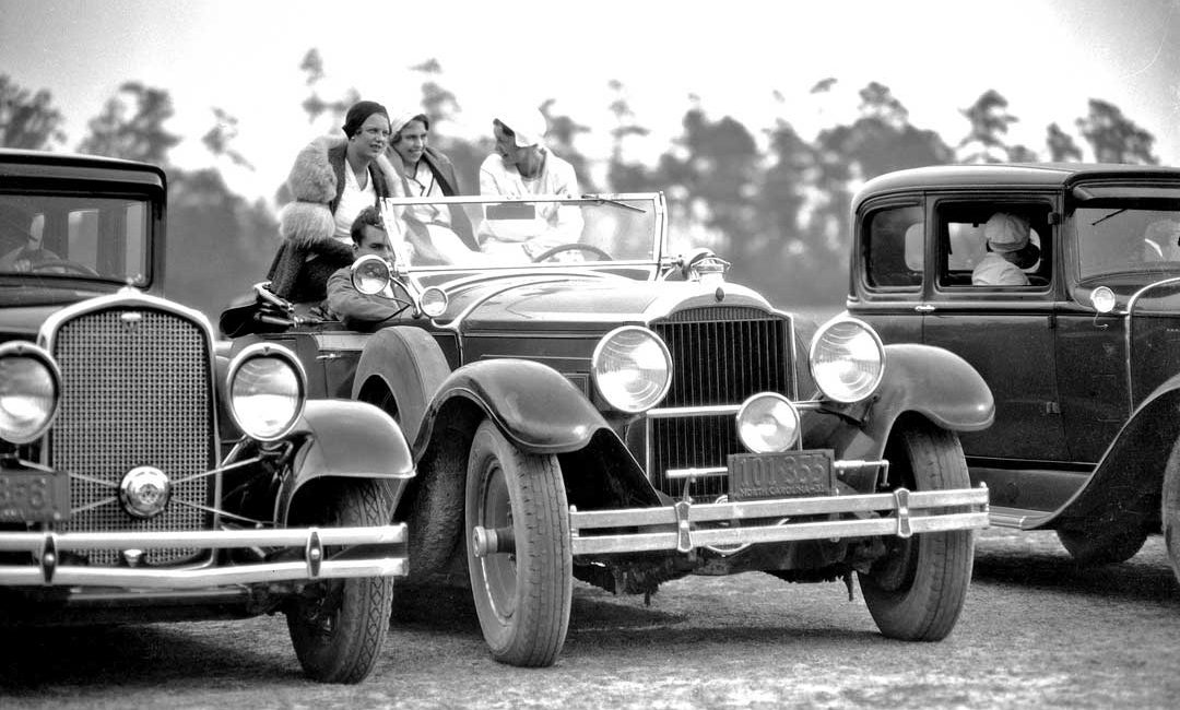 Classic Cars at a Pinehurst Country Club Men\'s Polo Match   The Old ...