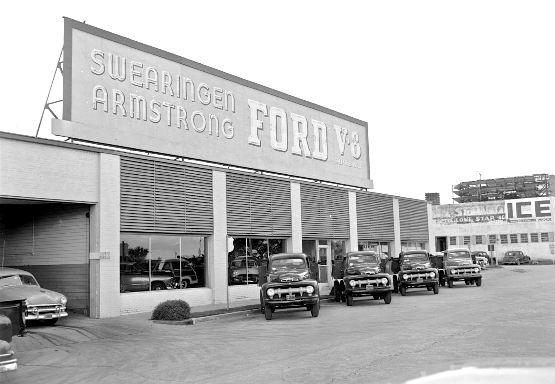 And finally below is a view of the Cross-Allen Company auto parts supply building dated February 14 1946. The facility was also in the City of Austin at ...  sc 1 st  The Old Motor & New and Used Fords and Auto Parts Deep in the Heart of Texas | The ... markmcfarlin.com