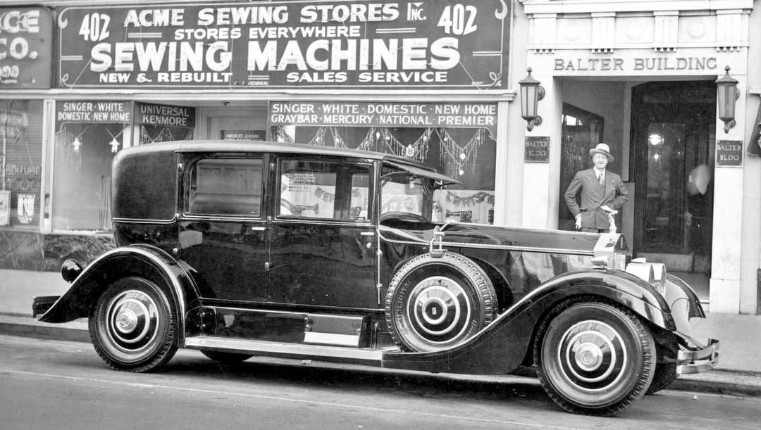 1949: Twenty Year Old Modernized Rolls Royce in New Orleans | The ...