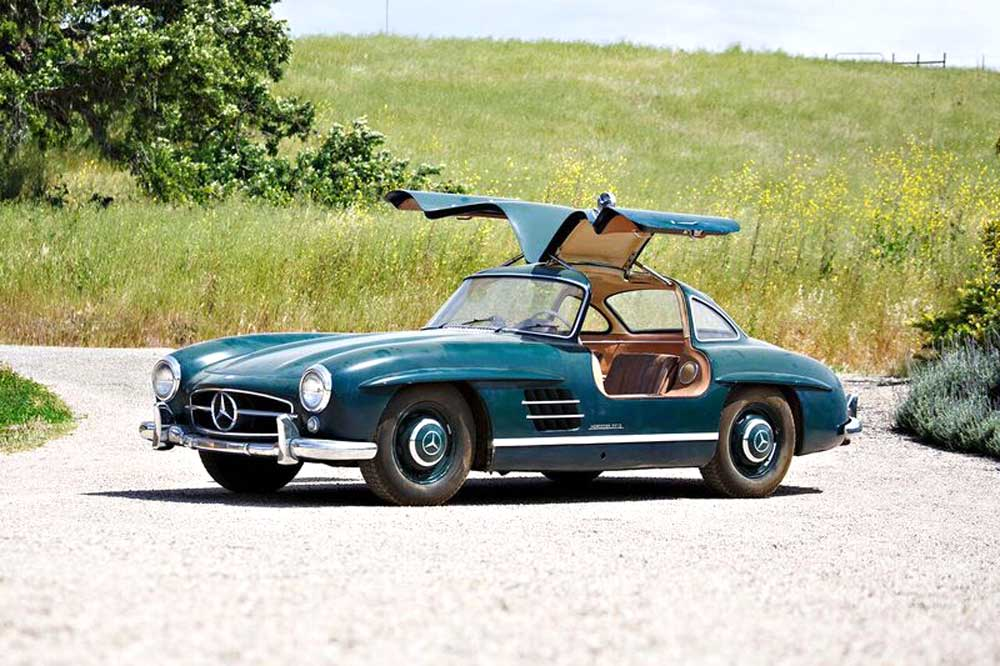 very rare find uncovered mercedes benz 300 sl gullwing. Black Bedroom Furniture Sets. Home Design Ideas