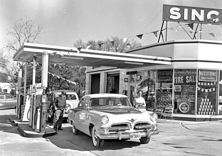 Austin Texas: Sinclair Rocket Power High Test Gasoline ...