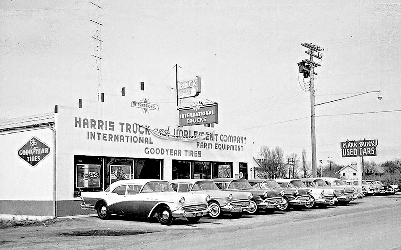Ford Dealerships In Utah >> The New 1957 Buicks in Stock at Clark Buick and Harris ...