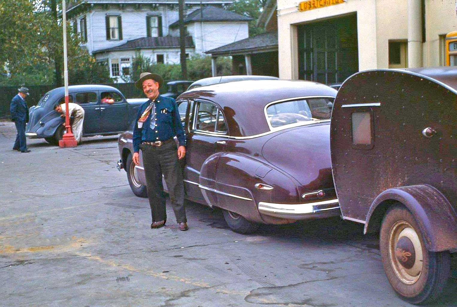 Four Fun Friday Forties, Fifties and Sixties Kodachrome Car Images ...