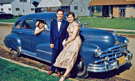 Four Fun Friday Forties And Fifties Kodachrome Car Images
