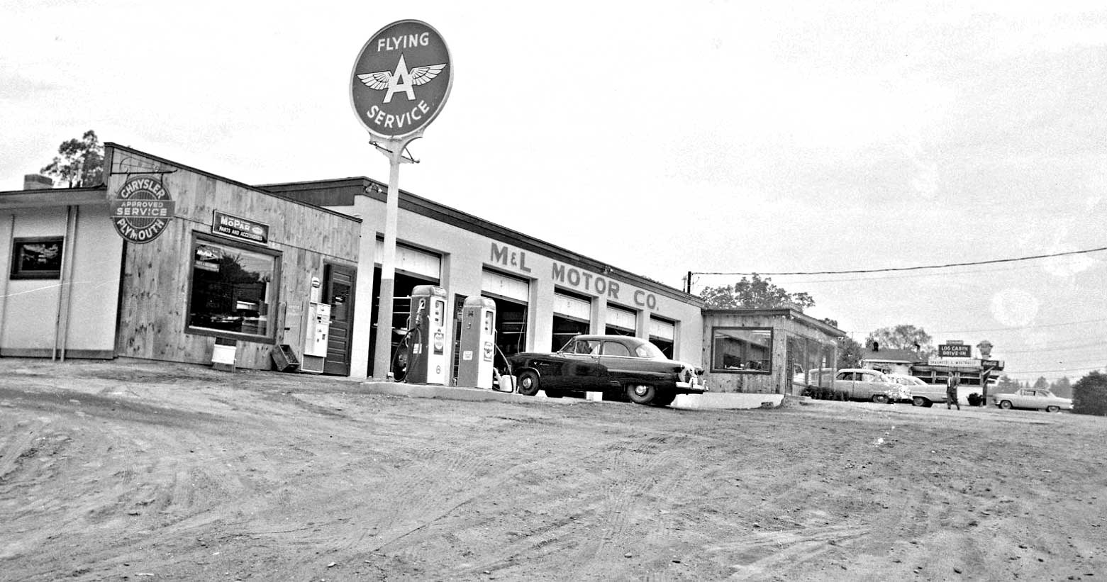 1950s: New and Used Car Dealerships in Brattleboro, Vermont | The Old Motor