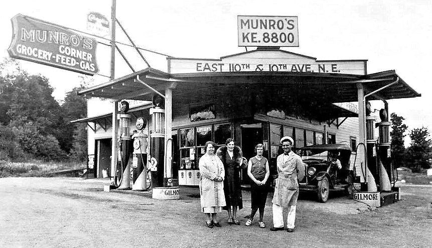 Vintage gas 1920s gilmore and marland filling stations for Munroe motors san francisco ca