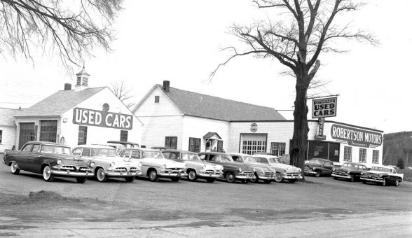 1950s Motor Mart Used Car Dealer The Old Motor