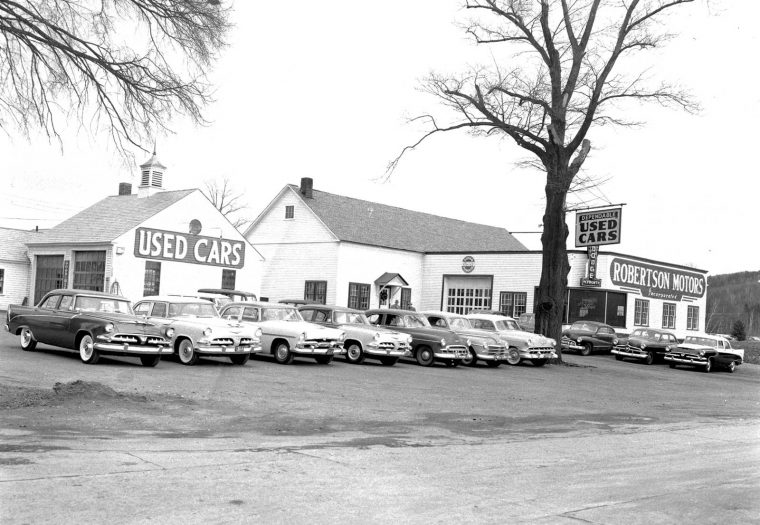 1950s new and used car dealerships in brattleboro vermont the old motor. Black Bedroom Furniture Sets. Home Design Ideas