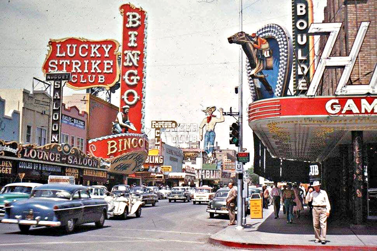 Kodachrome Friday: The Old Motor Goes to Las Vegas for Labor Day ...