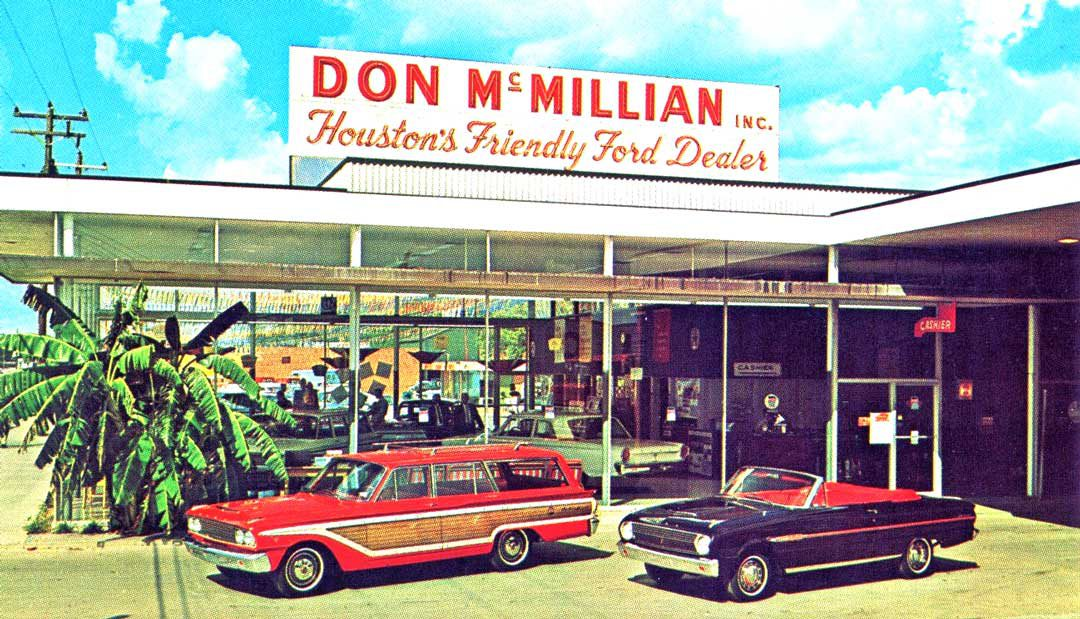 Tulsa Ford Dealers >> Dealer Postcards Lure Customers Back Into the Showroom | The Old Motor