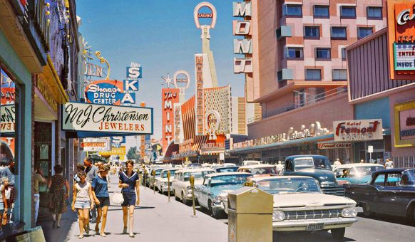 Kodachrome Friday The Old Motor Goes To Las Vegas For Labor Day Weekend