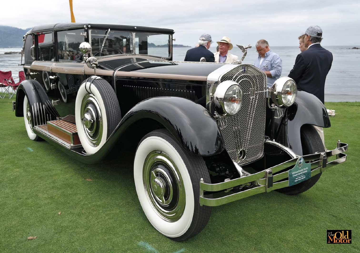 isotta fraschini stars at the 2017 pebble beach concours d elegance