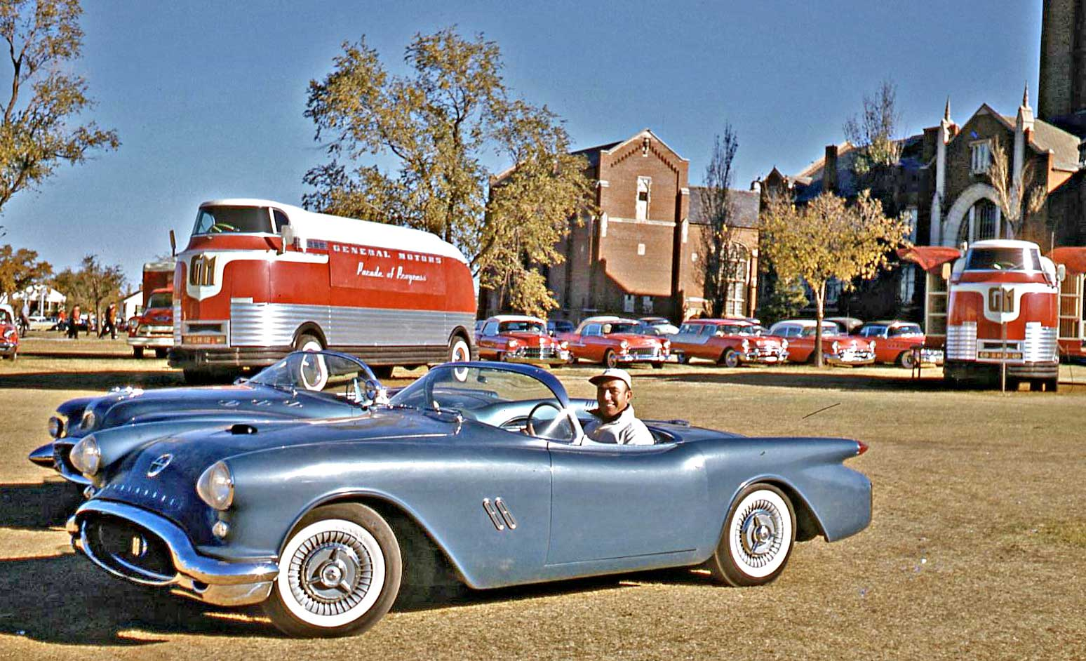 1955 Buick Wildcat Concept Car The Old Motor