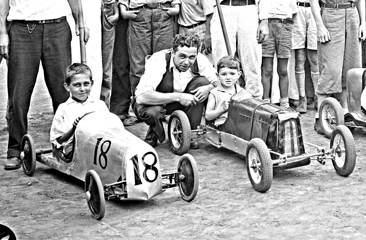 Childrens Pushmobiles Ready To Run At The Indiana State Fair The - Car show indiana state fairgrounds