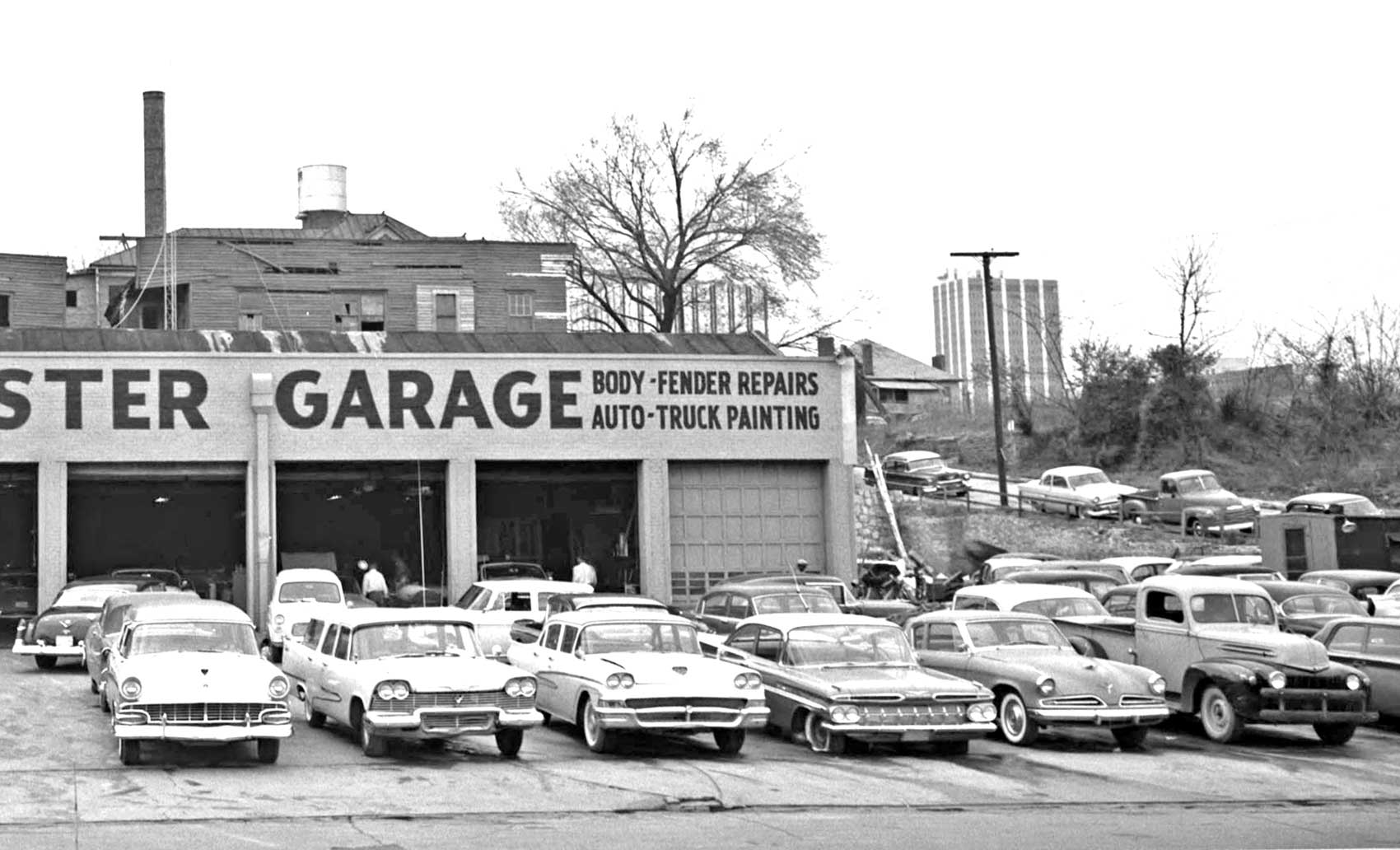 automotive americana webster garage general repairs and body work the old motor. Black Bedroom Furniture Sets. Home Design Ideas