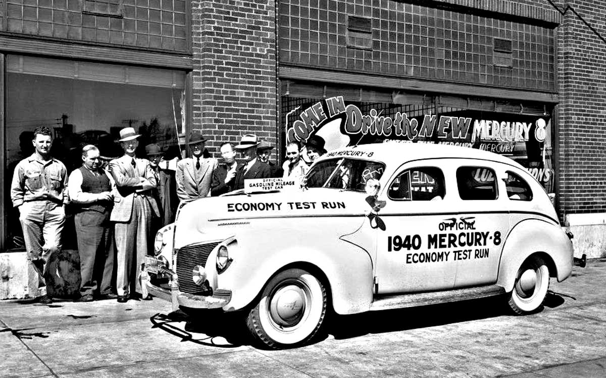 New Details and Photos: 1940 Mercury Economy Test Car – Pope ...