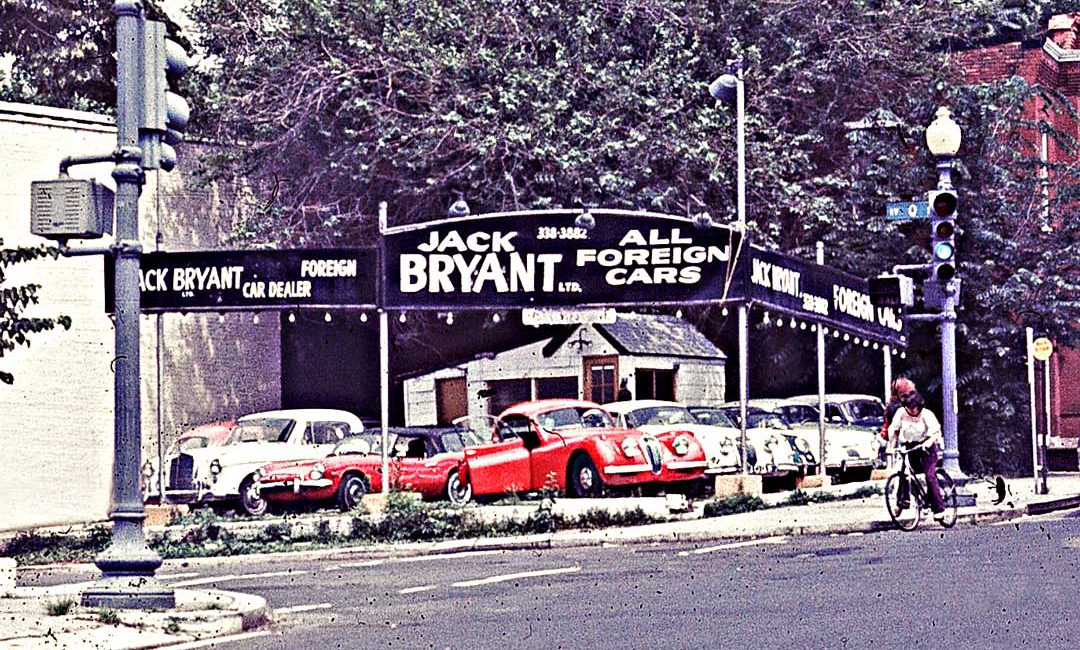 Jack Bryant LTD Foreign Cars: Wisconsin Ave. Georgetown, Washington ...